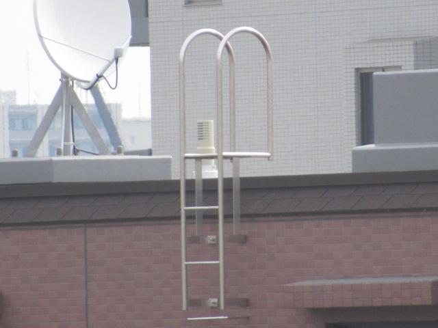 プロが教える避難はしごの使い方、構造等